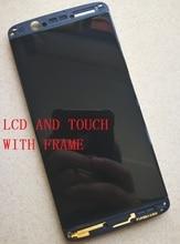 5.2 дюйма AMOLED ЖК-дисплей с сенсорной панелью для ZTE Axon 7 mini B2017G Дисплей с Сенсорный экран Digiziter Бесплатная доставка