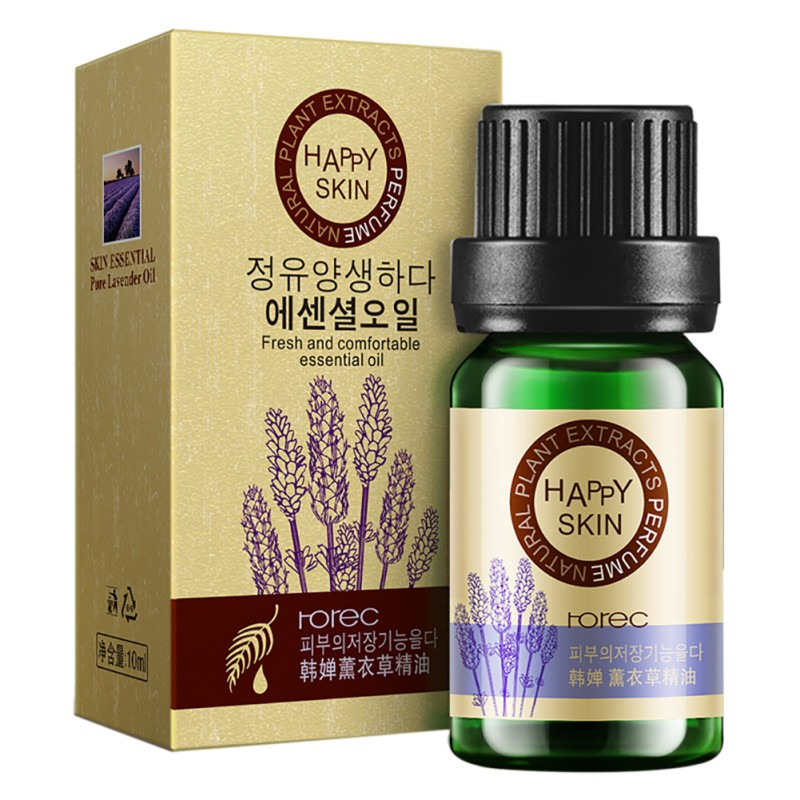 Relexing Lavender Rose Tea Tree Essential Oil Skin Care Treatment Natural Aromatherapy ...