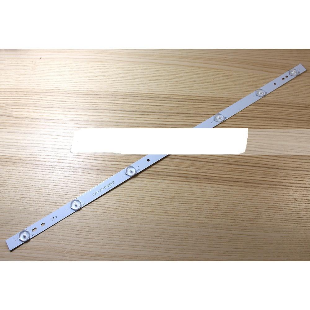 20pcs X 32 Inch Aluminum Plate LED Strips W/ Optical Lens Fliter TV Panel Backlight Lamps Length 61.5cm Free Shipping