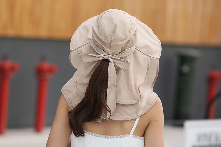 Chapeau sombrero avec protection du cou