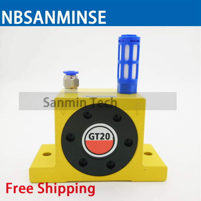 NBSANMINSE GT Pneumatic Turbine Vibrator Air Vibrator Low Pressure For food  and pharmaceutical industries -in Pneumatic Parts from Home Improvement on  ...