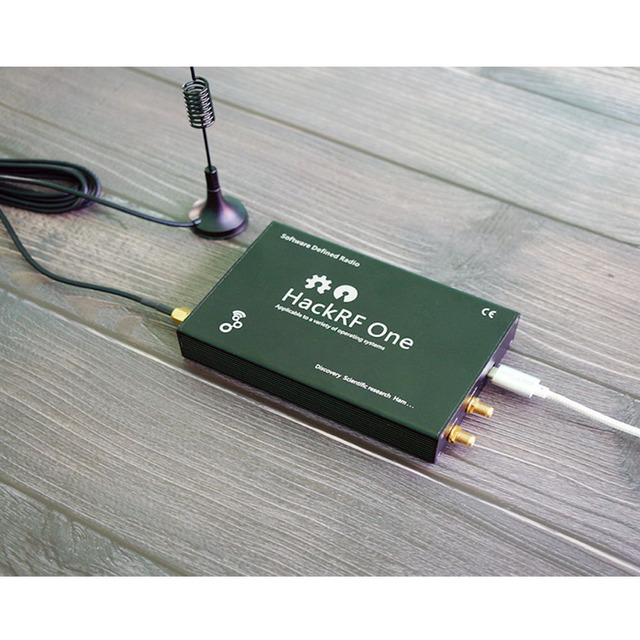 HackRF One usb platform reception of signals RTL SDR Software Defined Radio 1MHz to 6GHz software demo board kit dongle receiver