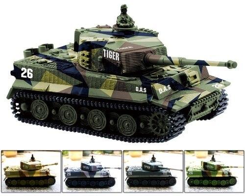 Greatwall 1: 72 radiocontrol Mini Rc tanque militar alemán Tigre con juguetes de sonido (varios colores) Ilustración para bebé juguetes educativos 3D temprano tarjeta cognitiva animales de la fruta León Tigre tarjetas materiales Montessori juegos en inglés