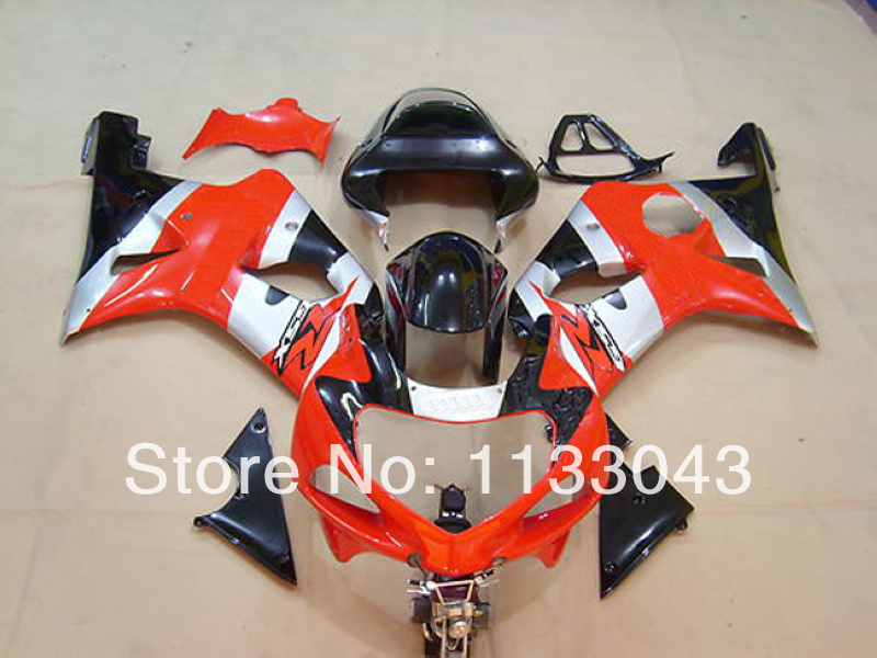 GSXR1000 2000 2001 2002 K1 красный черный обтекатель GSXR тюнинг-пакет для Suzuki GSXR1000 K1 00 01 02 GSXR 1000 01 02