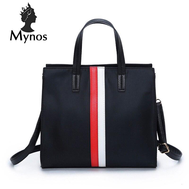 MYNOS New Oxford Luxury Brand Designer Handbags For Women SAC A MAin Femme Women Messenger Bag Large Tote Bag For Women Bolsas сумка через плечо bolsas femininas couro sac femininas couro designer clutch famous brand