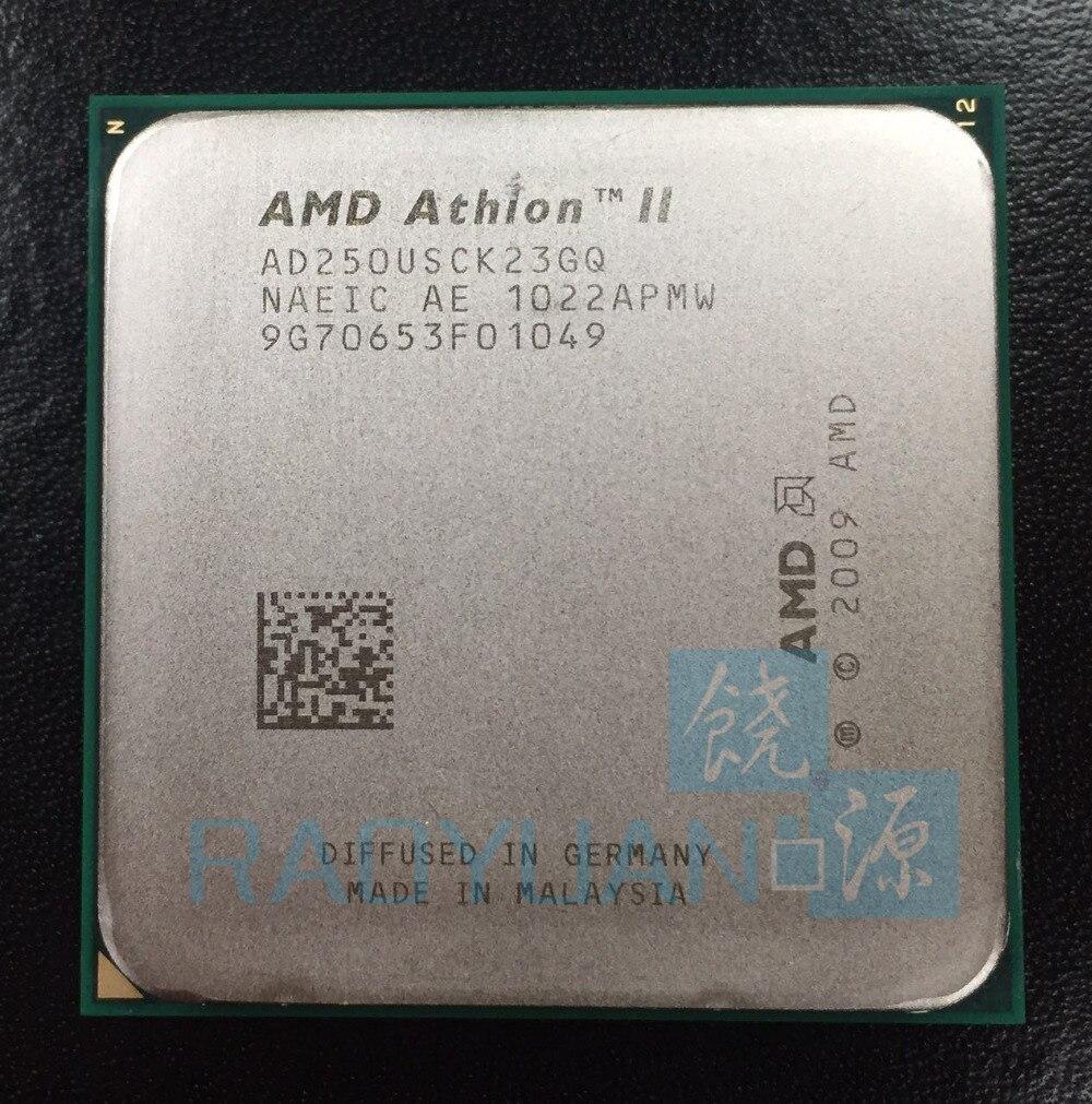 AMD Athlon X2 250u 1.6GHz Dual-Core CPU Processor AD250USCK23GQ 25W Socket AM3 938pin