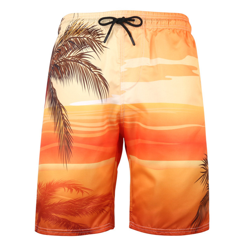 Skull Head Flag Mens Swim Trunks Quick Dry Bathing Suits Summer Casual Surfing Beach Shorts