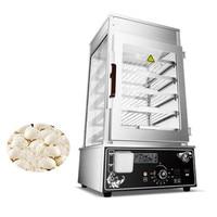 JamieLin Commercial stainless steel Electric Bun Steamer Bread Food Warmer Cabinet Stuffed Bun Steam Machine
