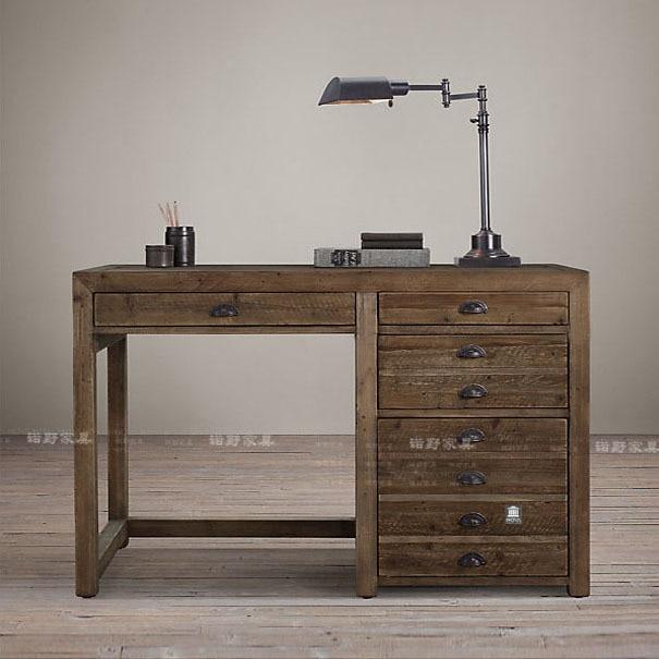 Exportaci n solo r stico edificio antiguo escritorio de for Como reciclar un escritorio de madera