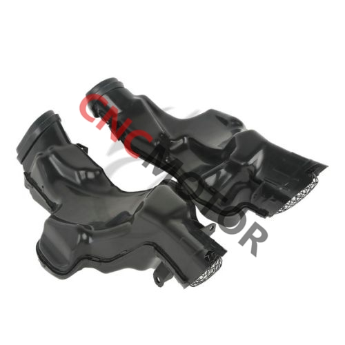 ABS New Left Right Ram Air Intake Duct Tube For Suzuki GSX-R GSXR1000 GSXR 1000 K7 2007-2008 New new motorcycle ram air intake tube duct for suzuki gsxr600 gsxr750 2006 2007 k6 abs plastic black