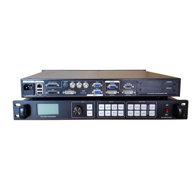 Бесплатная доставка ams lvp815s поддержка подключения камеры высокой четкости светодиодный дисплей контроллера светодиодный дисплей процессо