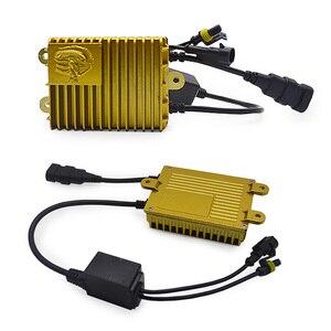 Image 2 - DUU 100W балласт комплект HID ксеноновая лампа 12V H1 H3 H7 H11 9005 9006 4300K 6000K 8000K Xeno фары ненастраиваемая кнопка