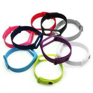 Image 4 - BOORUI Pulsera Bunte Miband 3 Strap correa Silikon Miband 3 band ersatz zubehör handgelenk gurt für xiaomi mi3 armband