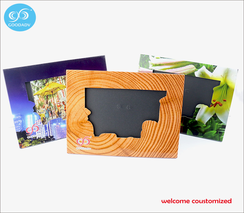 Promotion advertising gift customized square picture frame cheap ...