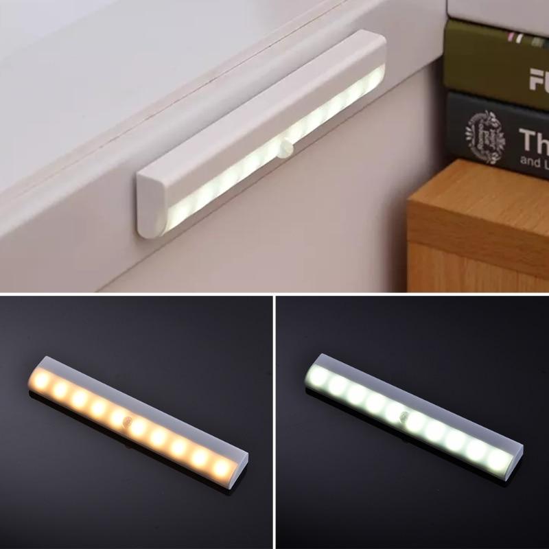 YAM Automatic Sensing Wall Light Fixtures LED Infrared Induction Motion Sensor Lamp Wardrobe Cabinet