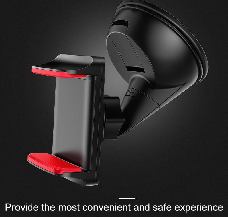 Artisome Car Phone Holder Universal Windshield Sucktion Mobile Phone Holder Stand 360 Degree Rotatable Car Mount Holder (4)