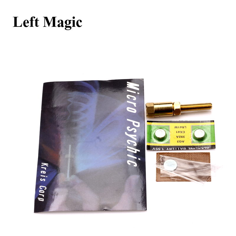 Șurubelniță Șurub cu șurub Magic Trick Micro Psychic Super Ultimate Rotirea Close-Up Magic Props Ușor de făcut Illusion Magic