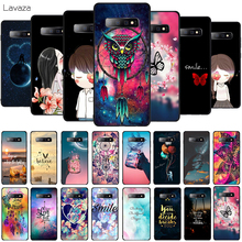 Lavaza Space Moon Soft Phone Cover for Samsung Galaxy S8 S9 S10 Plus A6 A8 A9 2018 A30 A50 TPU Case
