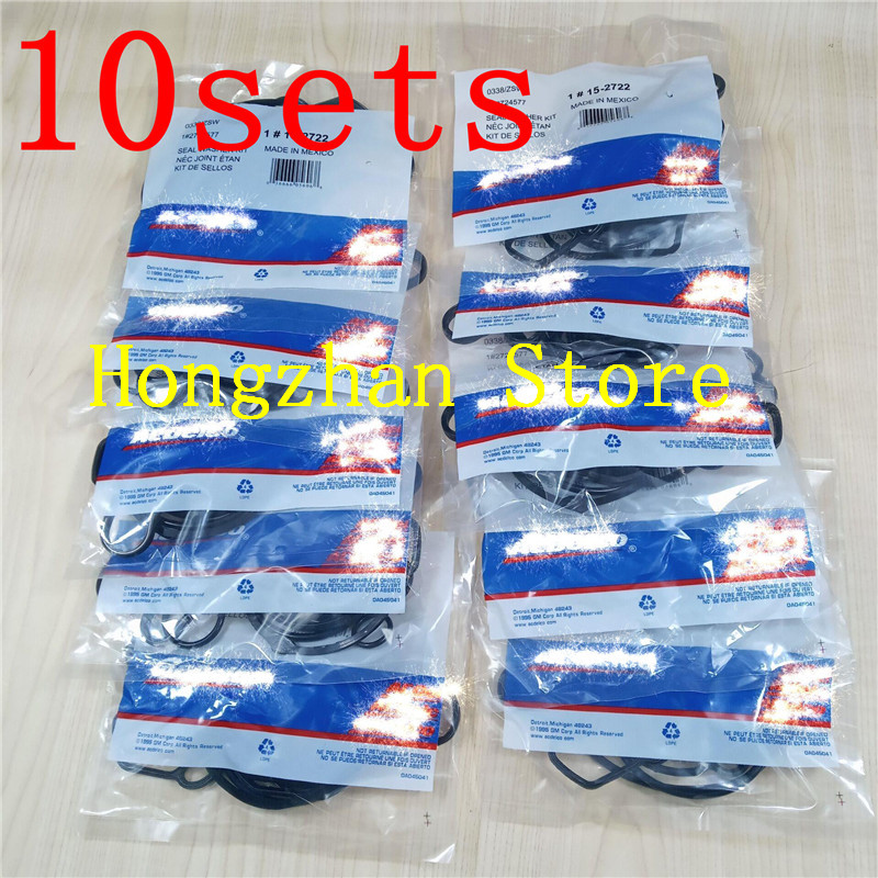 10set/lot Oil radiator New Engine Oil Cooler gasket for OPEL Astra Zafira Signum Vectra Chevrolet Cruze orlando Sonic croma image