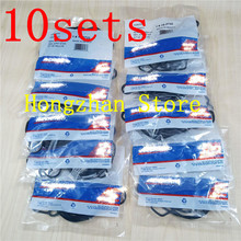 10set/lot Oil radiator New Engine Oil Cooler gasket for OPEL Astra Zafira Signum Vectra Chevrolet Cruze orlando Sonic croma