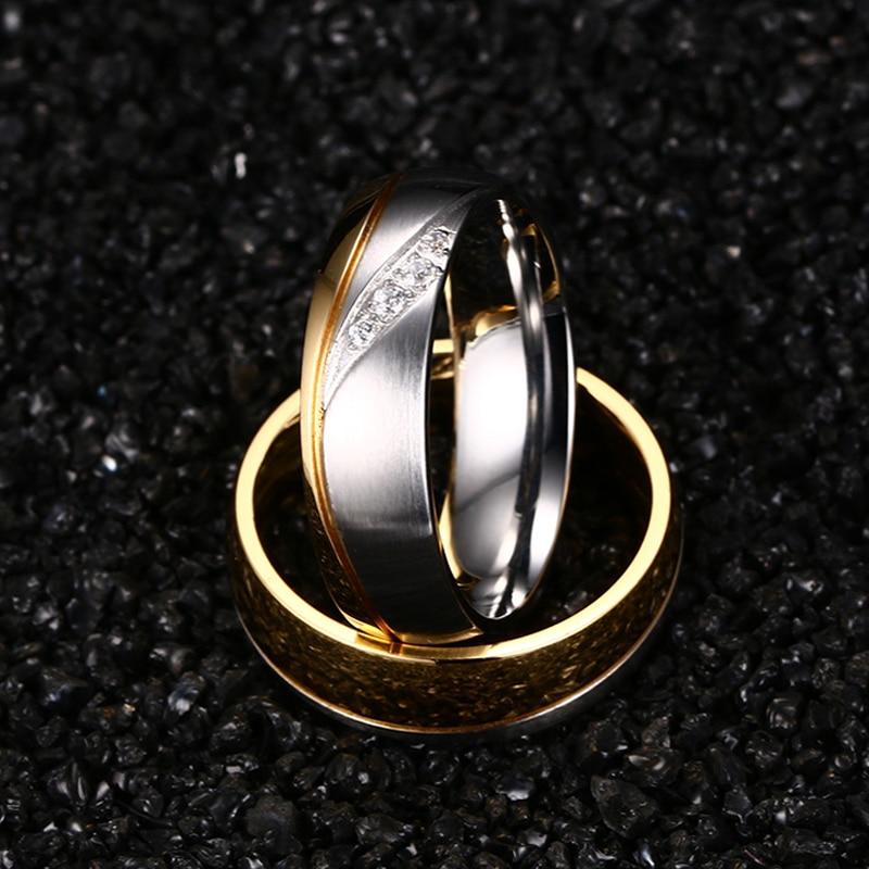 Meaeguet романтични сватбени пръстени за - Модни бижута - Снимка 4