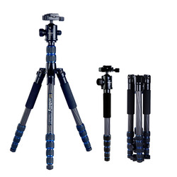 Manbily CZ-302 carbon fibre professional panorama ball head tripod & monopod for  Video Camera DSLR