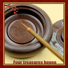 2 pieces Red hair the painting supplies Traditional Chinese realistic four treasures  calligraphy brush