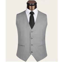 Suit Vest Men Wedding Vest fashion Trend Waistcoat Men Classic Vest Slim Fit Hombre Casual formal groom clothing vest