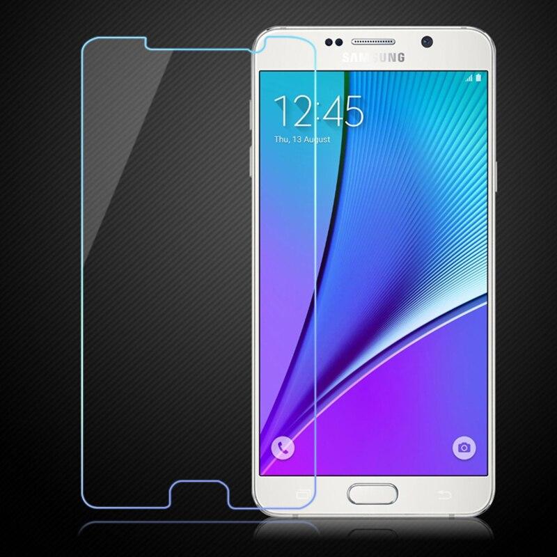 HD claro 0.3mm vidrio templado para Samsung Galaxy Nota 5 4 n9100 ...