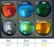 1,49 Index Mode Colorful Gespiegelt Reflektierende Polarisierte Sonnenbrille Brillenglas Harte Antikratz Uv-schutz DD1200