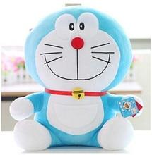 35cm sitting tall Dor-a-emon plush animal toy,birthday gift for kids children girlfriend,stuffed anime toy soft lovely smile cat