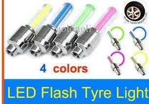 -flash Blinkende Feuer Fliegt Led Light Reifen Auto Fahrrad Bike Reifen Rad Ventil Abdichtung Cap Stem 20 Teile/los Nachfrage üBer Dem Angebot