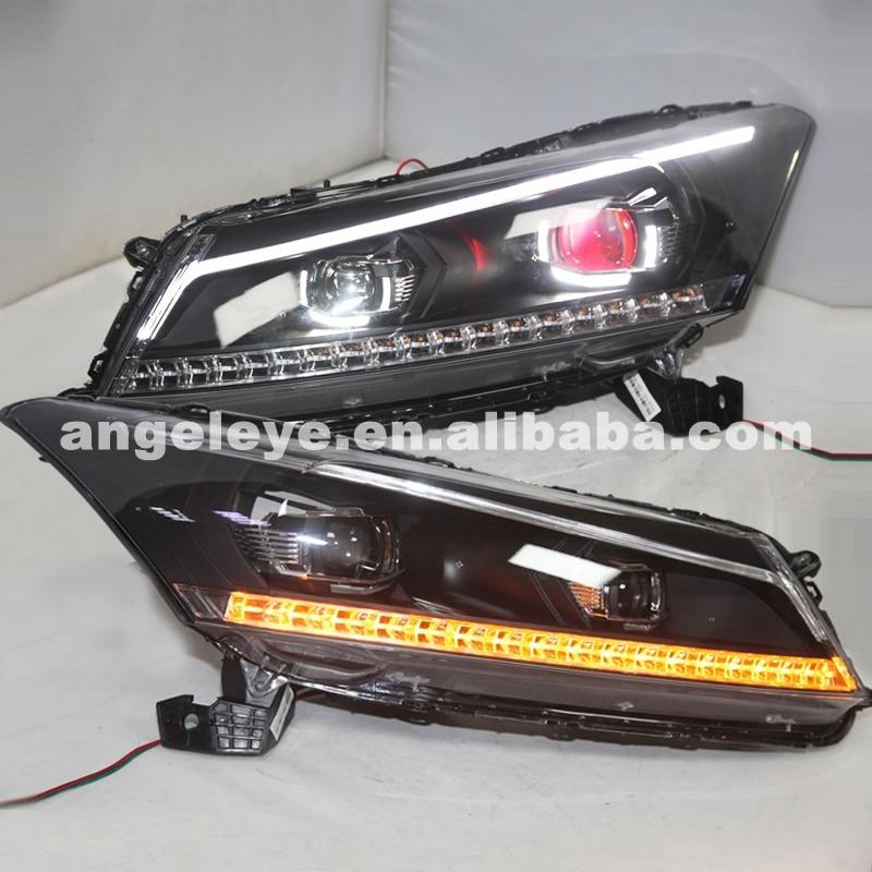 For HONDA Accord LED Devil Eye Headlight 2008 To 2011 Year какую хонда honda accord или пассат б5