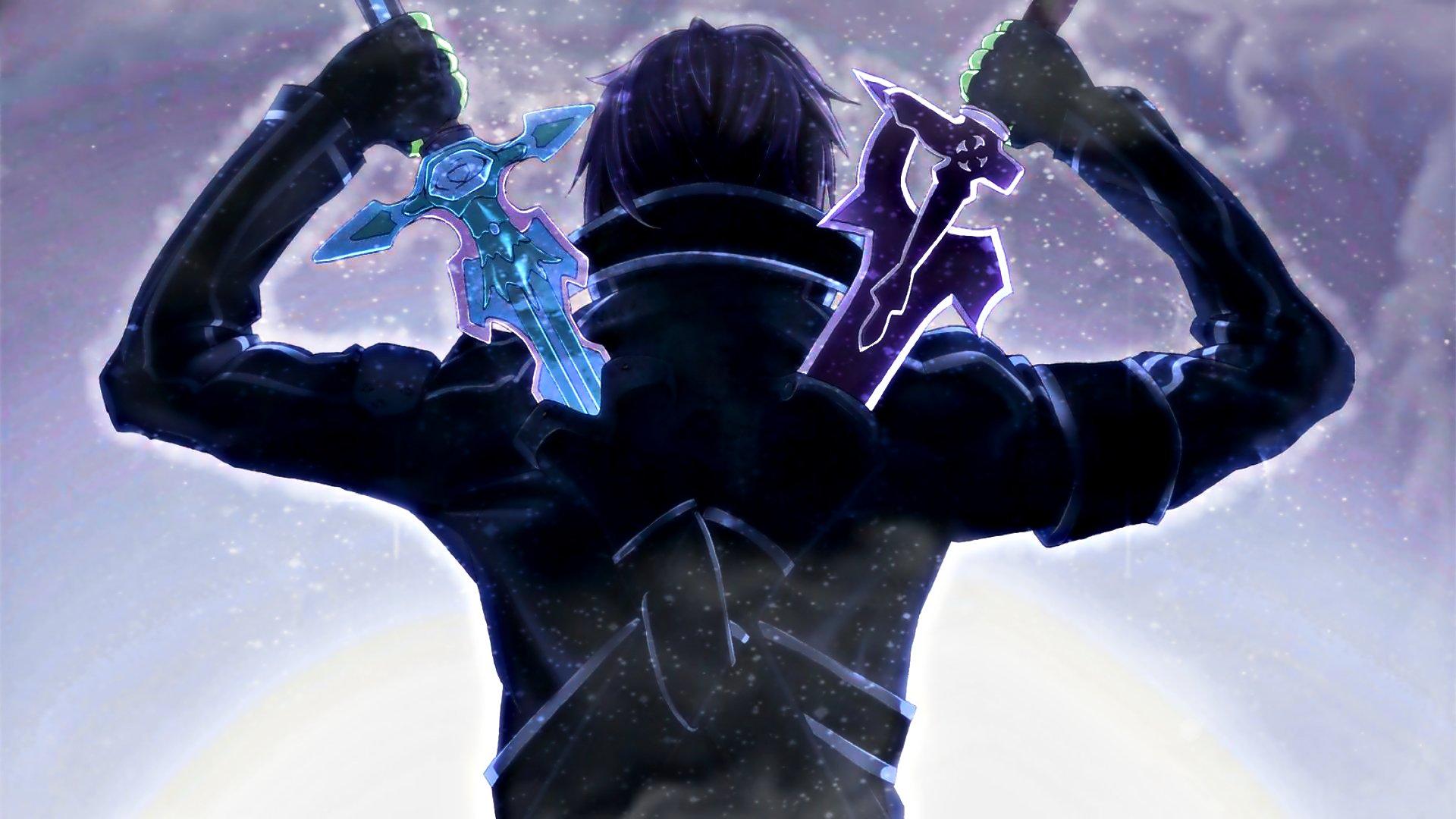 "Kirito (Sword Art Online) Art Silk Fabric Poster 36"" x 24 ..."