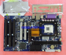 Free shipping CHUANGYISU for CYSMBD-845GL3,845GV,Motherboard with 3 ISA 2PCI slots,2 COM,2 IDE,socket 478,VGA,One year warranty