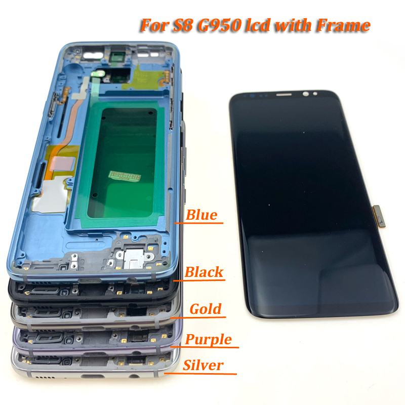 For-S8-plus-G950-lcd-with-frame-all-24