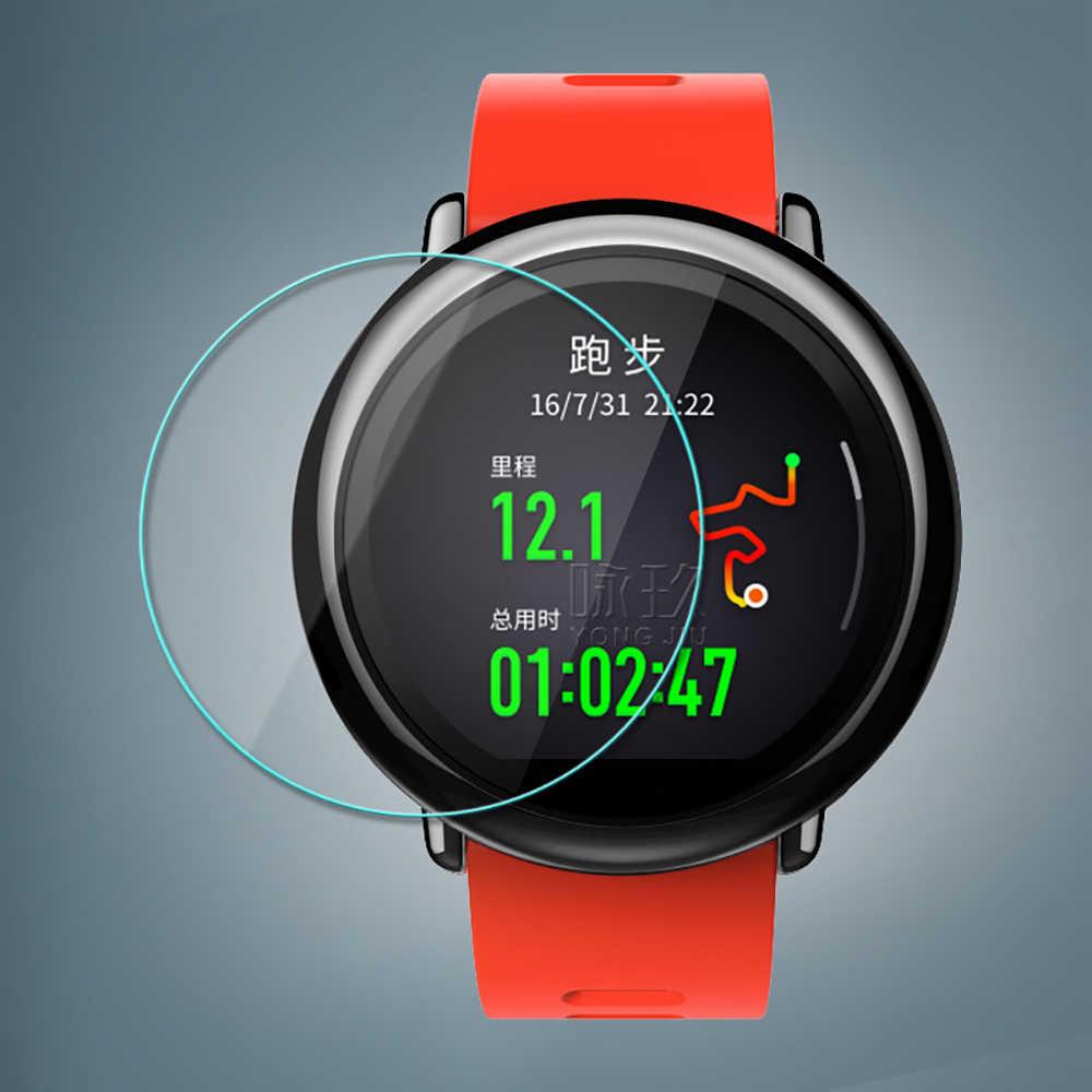 Universal ฟิล์มกระจกนิรภัยเส้นผ่านศูนย์กลาง 23 มม.-45 มม.สำหรับ Samsung สำหรับ Huawei สำหรับ Garmin สำหรับ LG สำหรับ MOTO สำหรับ Xiaomi สมาร์ทนาฬิกา