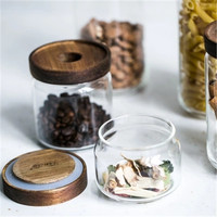 KINGLANG Sealed cans with lids, glass jars food cans dry goods storage tanks, snack jars, miscellaneous storage tanks