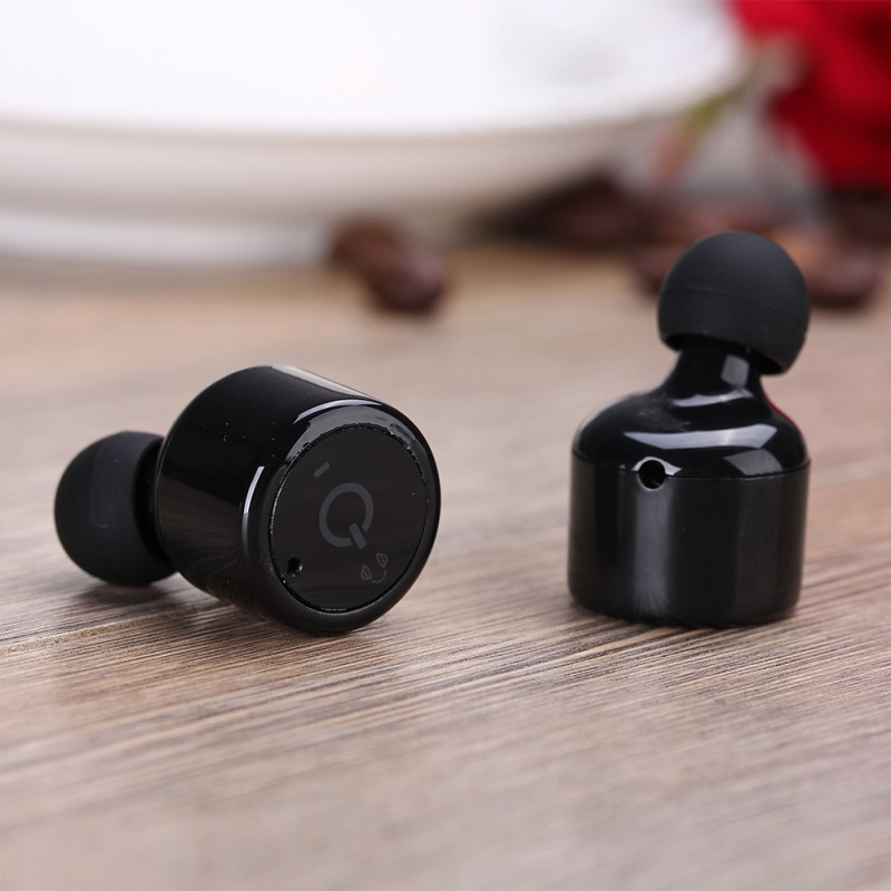imágenes para V4.2 dual auriculares mini auricular bluetooth inalámbrico de manos libres bluetooth impermeable auriculares micrófono para iphone samsung lg sony