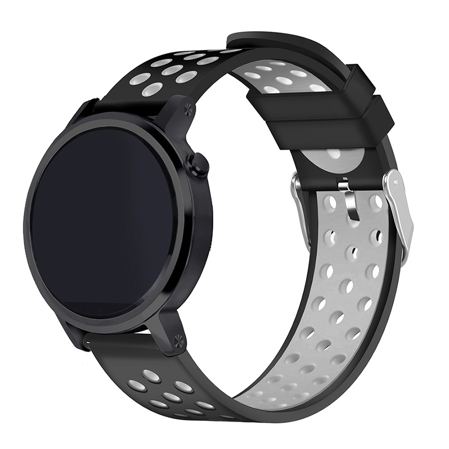 moto 360 2nd gen 46mm. aliexpress.com : buy 22mm silicone watch band for moto 360 2nd gen 46mm pebble double color sport samsung gear s3 classic/frontier from