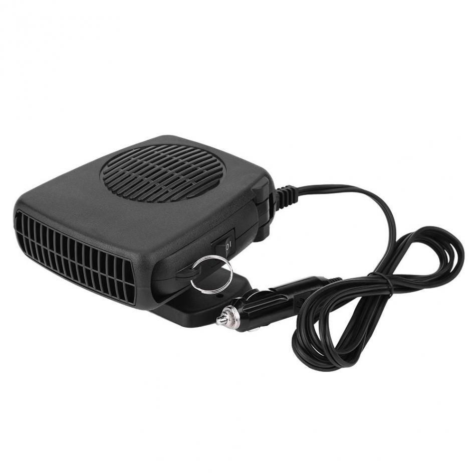 150W Auto Car Portable Instant Heater Defroster 2 in 1 Ceramic Heating Cooling Heater Fan Defroster Demister Universal