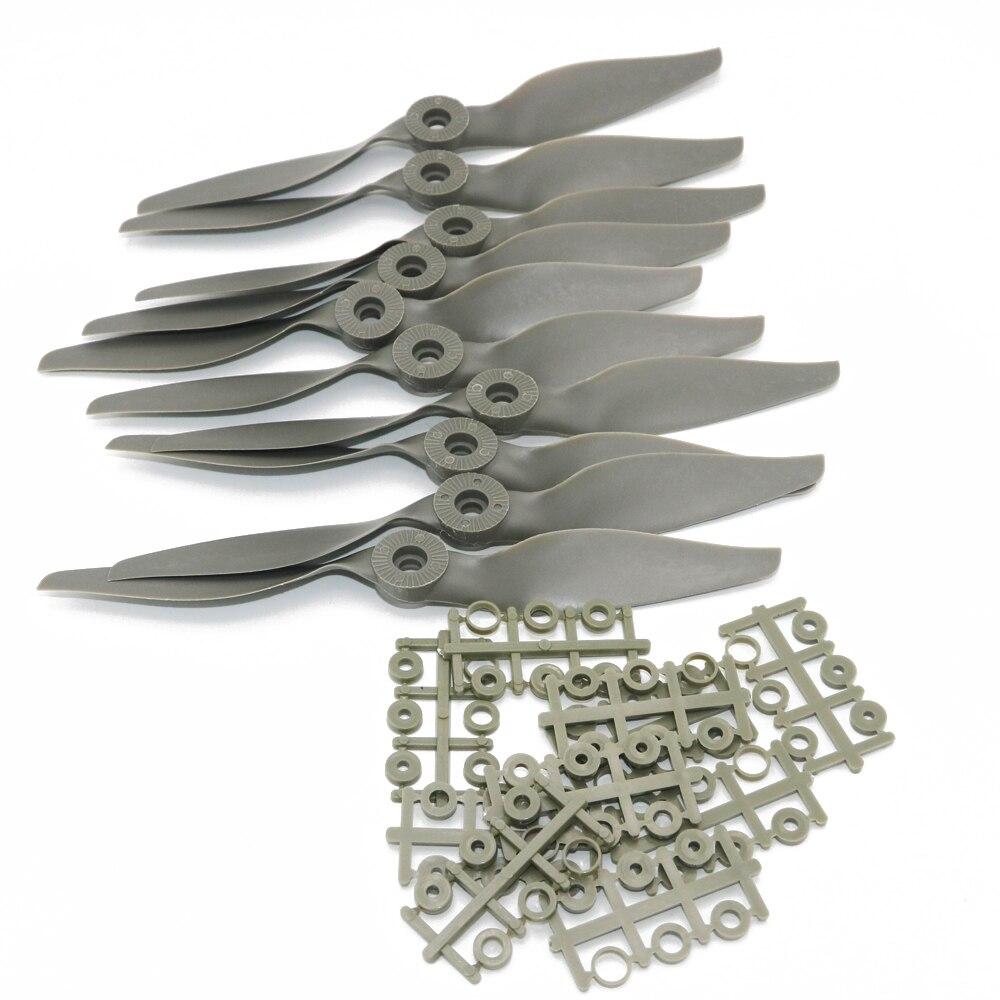 10 pcs/lot Apc couteau à hélice cheval paddle (14X7 13X6.5 12X6 11X5.5 10X7 8X6 8X4 7X5 6X4 pour choisir) vente en gros (lot de 10)