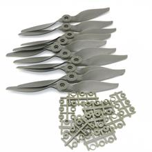 10 sztuk partia nóż śmigła Apc Apc (14X7 13X6 5 12X6 11X5 5 10X7 8X6 8X4 7X5 6X4 do wyboru) sprzedaż hurtowa tanie tanio U-Angel-1988 CN (pochodzenie) Z tworzywa sztucznego Cięcia Adapter Spinners Pojazdów i zabawki zdalnie sterowane Wartość 2