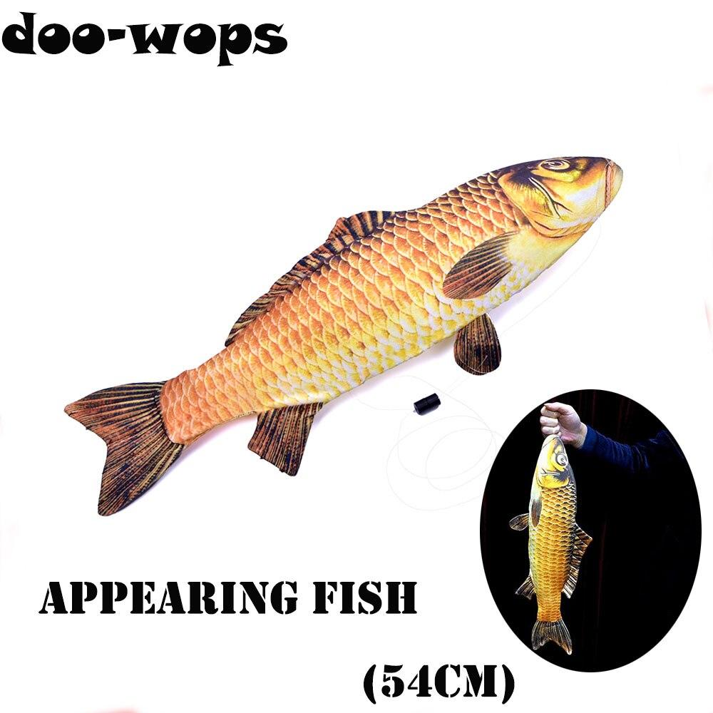 2018 FISM ใหม่ปรากฏปลา (54 ซม.) magic Tricks ปลาปรากฏจากกรณี Magia นักมายากลภาพลวงตา Gimmick Props สนุก-ใน มายากลมหัศจรรย์ จาก ของเล่นและงานอดิเรก บน AliExpress - 11.11_สิบเอ็ด สิบเอ็ดวันคนโสด 1