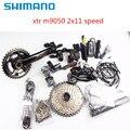 Shimano XTR Di2 M9050 2x11 fiets mtb elektronische Groepset 22 speed Merk nieuwe
