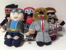 2016 New 18-23cm Minecraft Tube Heroes Plush Tube Heroes Dan TDM Captain Sparklez Sky Exploding Jeromeasf Stuffed Toys