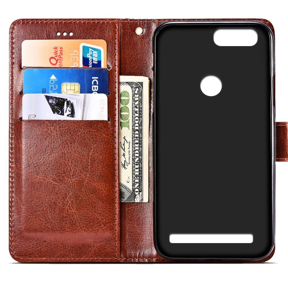 SRHE For Leagoo Kiicaa Power Case Cover Flip Leather Card Wallet Silicone Cover For Leagoo Kiicaa Power With Magnet Holder