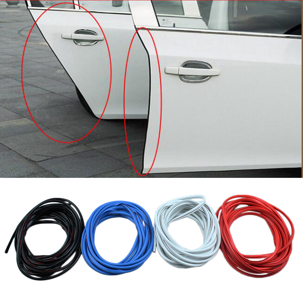 Moulding Trim Universal Moulding Trim Strips Car Door Scratch Protector Edge Guard Cover Anti Crash Rubber Sealing Strip Antiwear Rubber Strip In Styling Mouldings