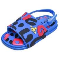 Mini Melissa Sandal 2020 New Original Girl Jelly Sandals Leopard Boys Kids Sandals Children Beach Shoes Non slip Toddler Shoes|Sandals| |  -