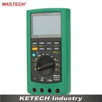 MASTECH MS8218 50000 отсчетов высокой точностью True RMS DMM Цифровой мультиметр дБ метр w/RS232 Интерфейс multimetro
